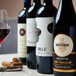 グラス・デキャンタワインはハッピーアワーでもお得に堪能できます