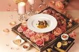 春のキャンドルフレンチディナーは「ロワール地方」のイメージで