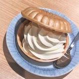 サイドメニューのソフトクリームはお子様にも人気の一品!!
