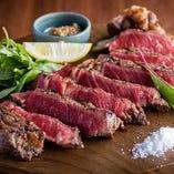 九州産黒毛和牛サーロインステーキ/リブロースステーキ