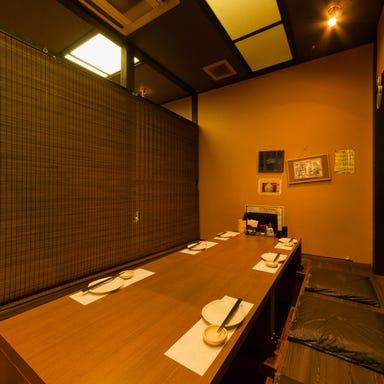 新潟肉と海鮮・50種の地酒 つるまる 店内の画像