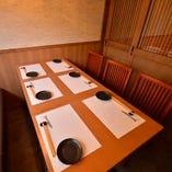 完全個室も完備!接待やご宴会に。
