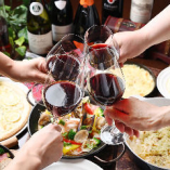 ワインサーバーマシンを導入♪イタリア産スパークリング&ワイン