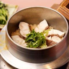 炊きたて天然真鯛の釜飯