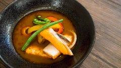 鮭ハラスのスープカレー