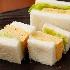 一度食べてみて!特製玉子サンド