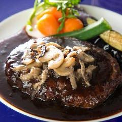 ハンバーグステーキ 選べる3種のソース