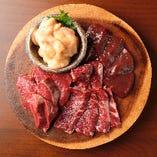 当店が提供するお肉は黒毛和牛を一腹買いで仕入れた厳選肉!