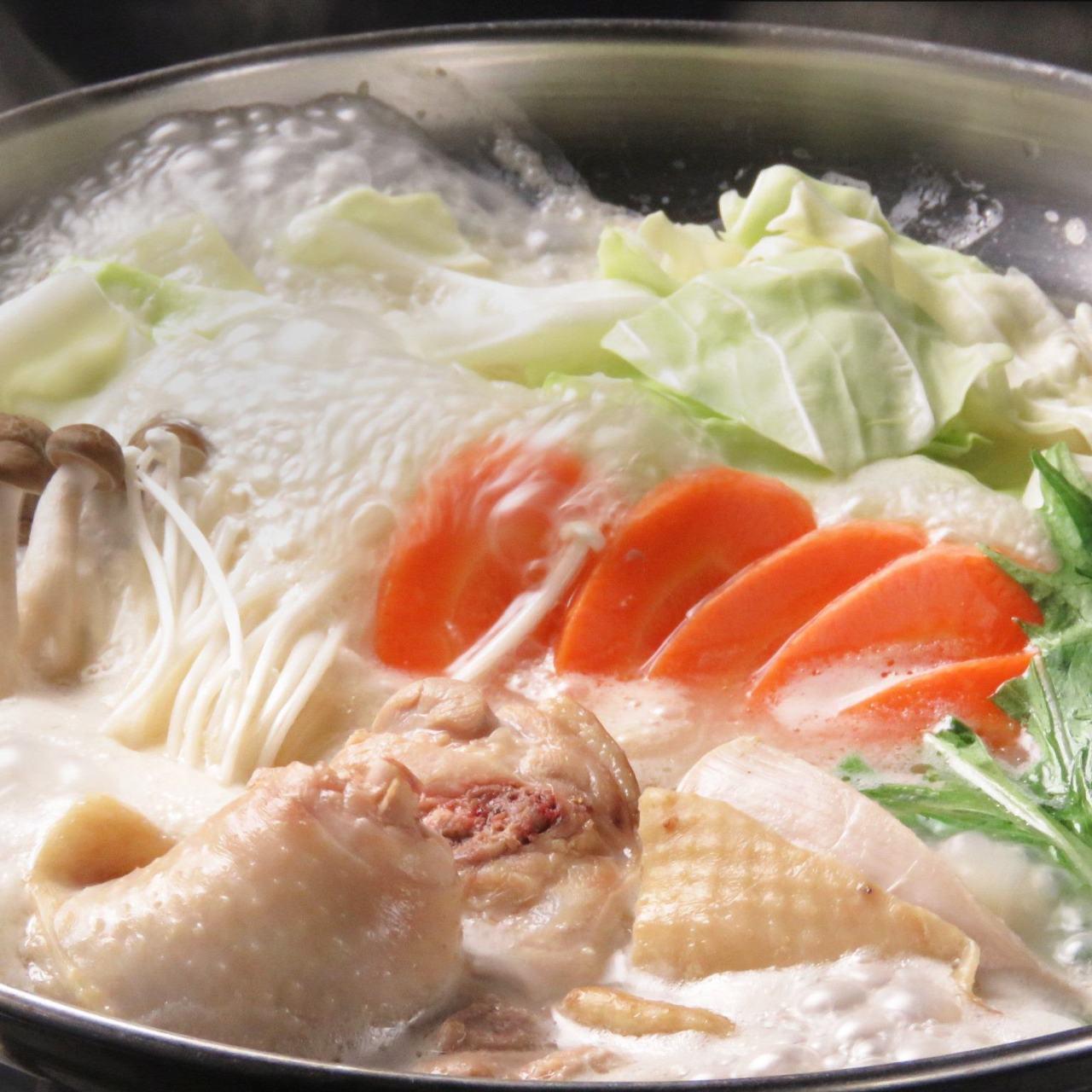 【もつ鍋・水炊き】鍋、揃えてます。