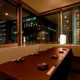 1番人気の窓側個室♪御予約はお早めに!