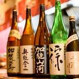 石川県ご当地地酒も常備しております