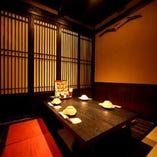 横浜西口最大級総席数260席は全て個室対応可能でございます。