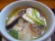 国産松茸茶碗蒸し。掘っても掘っても松茸だらけで超濃厚な味。
