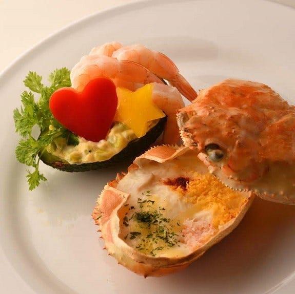 イタリアンベースのオリジナル料理♪