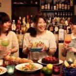 【幹事様必見】Cafe Bar LIFEで女子会&誕生日・記念日のお祝いを♪