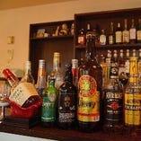 ウイスキーの種類が豊富!