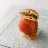 まるごとトマトサラダ