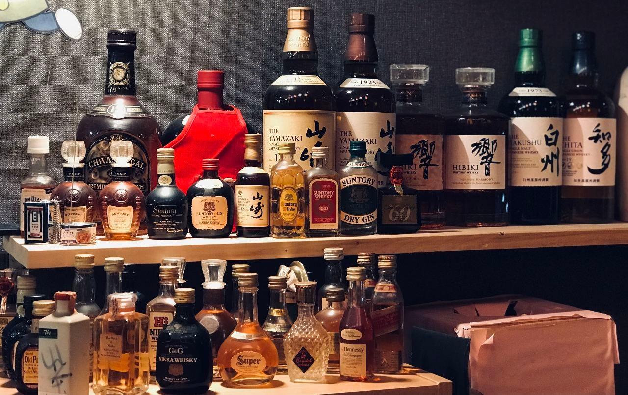 ウイスキー 知多、白州、響、山崎、山崎12年、オールド
