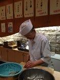 有名店の料理長経験者が、調理してくれます。