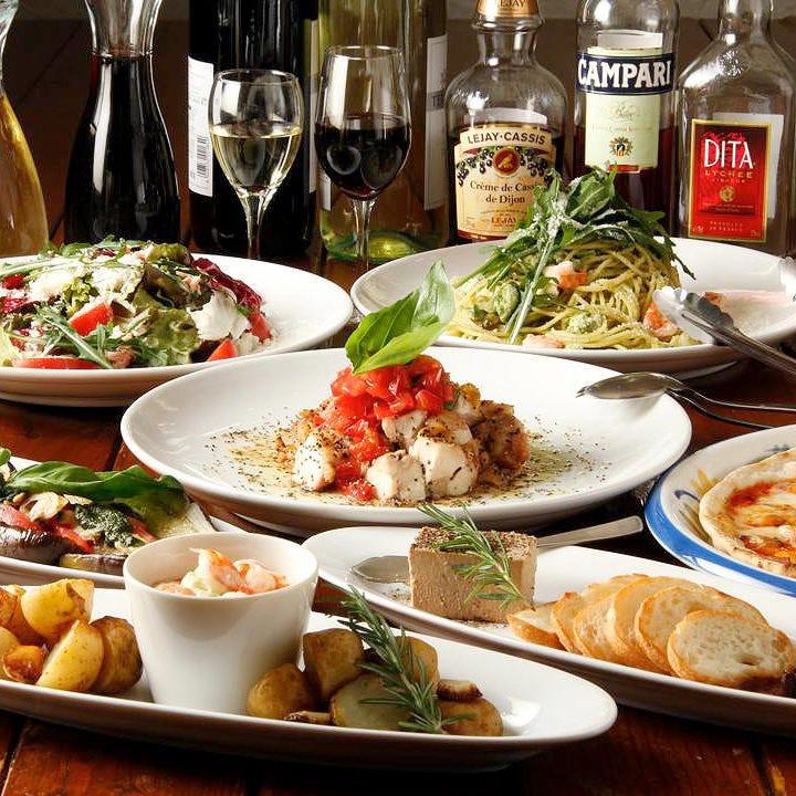 各種ご宴会に最適!多彩なコース料理