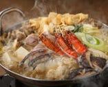 魚貝たっぷり鍋(正油仕立て又は味噌仕立て)