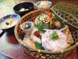 【ランチ】竹かご弁当