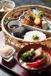 【ランチ】竹かご弁当 治部煮つき