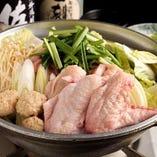 鶏と野菜のどっさり鍋