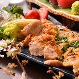 薩摩地鶏たたき焼き