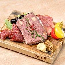 馬肉前菜3種盛り