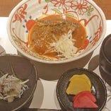 自家製サバの味噌煮定食(シラスおろし付き)