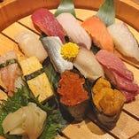 特選 寿司盛り合わせ~海宴~ 12貫