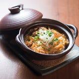 【料理】 とろ~り玉子の下に山芋が隠れている親子丼は必食