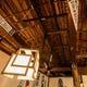 古民家を改装した店内は天井もしぶいです。