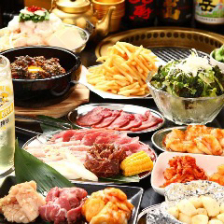90分ホルモン&焼肉食べ放題コース!