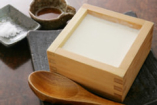 ご注文を受けてから、作る 温か豆腐