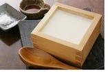 ご注文頂いてから作る温か~い豆腐