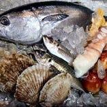 鮮度抜群の新鮮食材を活かした創作料理を是非お召し上がり下さい