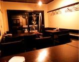 3Fはテーブル席! 8名様から個室としてご利用可能!