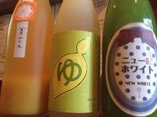 果実酒もご用意!!豊富なお酒!!