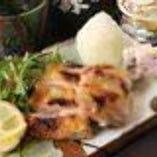 【肉料理】 魚のみならず肉にもこだわりを持ってご提供。
