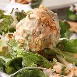 【冷菜・サラダ】 季節感溢れる食材と砕けたアイデアで冷菜もご提供。