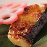 【焼き物】 板長自家製の干物や味噌焼きをご堪能下さい。