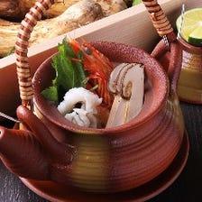 今宵は旬を楽しむ和食店で。