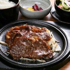 【名物】 牛肉の生姜焼き