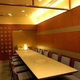 ご接待に相応しいテーブル席完全個室(2~6名様×2部屋)