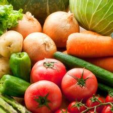 農家直送の旨い野菜