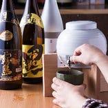 大人気の焼酎10種類飲み放題はなんと時間無制限1000円!