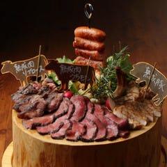 【ワンランク上のJoe&Joe】熟成肉盛り合わせコース!熟成肉を思う存分♪