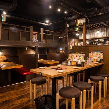 餃子のとりいちず酒場 高円寺北口店 店内の画像
